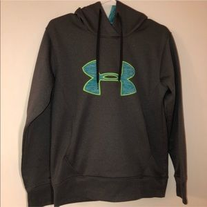 UNDER ARMOUR Semi Fitted Coldgear Hoodie Sz. S
